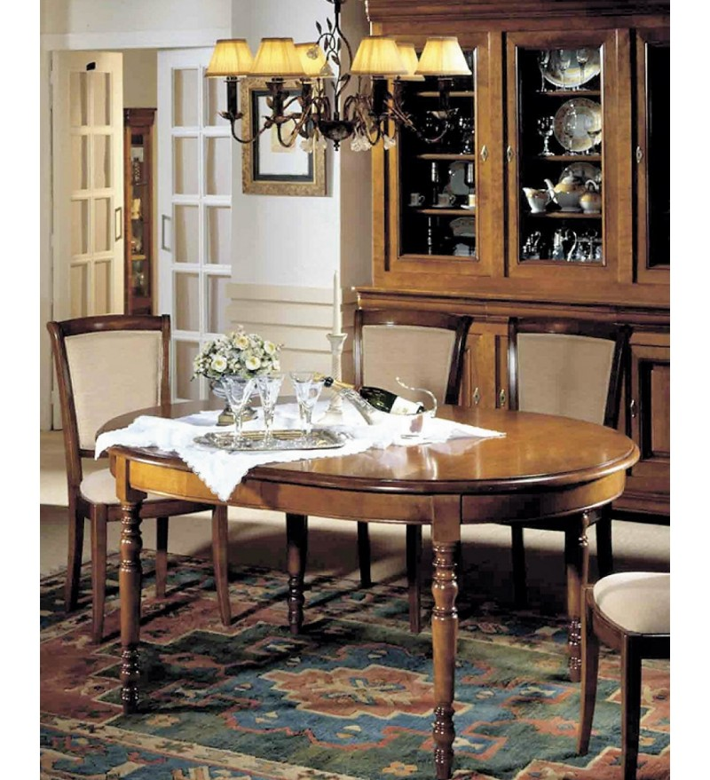 Salle A Manger Louis Philippe Relookee: Salle Manger Louis Philippe Merisier Massif
