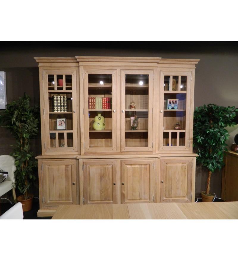 biblioth que vaisselier dressoir en ch ne massif. Black Bedroom Furniture Sets. Home Design Ideas